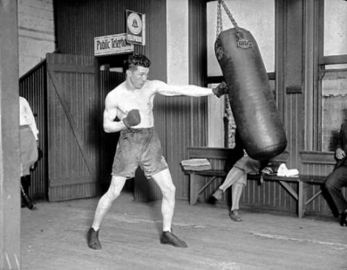 +Sgt.+Sammy+Baker+Boxing+via+Harry+E+Winkler+Collection-550x427